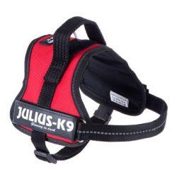 harnais juliusk9 rouge presentation