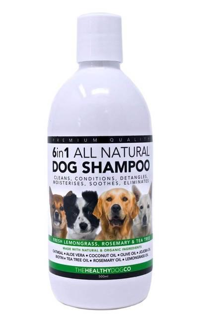 Shampoing 100% naturel TheHealthyDogCo 6 en 1